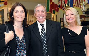 Paul and Nancy Daly, Cheryl Rawson