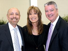 Joel Kaufman, Judge Gisele Pollack, Neal McGarry