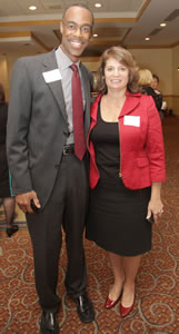 Robert Runcie and Laurie Rich Levinson
